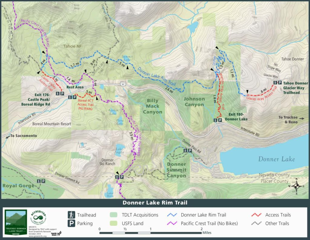 tahoe hiking trails map with Donner Lake Rim Trail on Bear Mountain together with BlissEmeraldBay moreover Donner Lake Rim Trail moreover Desolation wilderness likewise Squawvalley.